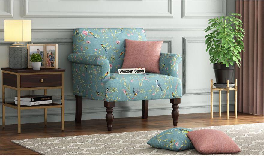 Foley 2 Seater Sofa (Linen, Bubble Robins)-4