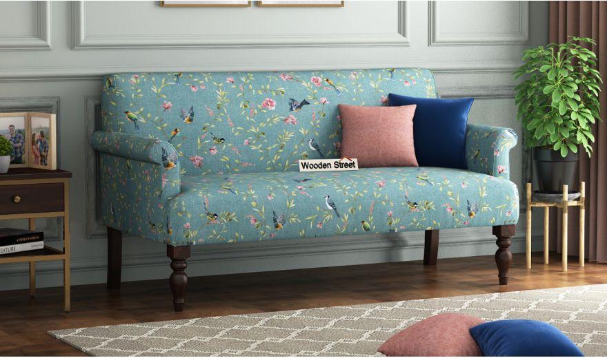 Foley 2 Seater Sofa (Linen, Bubble Robins)-1