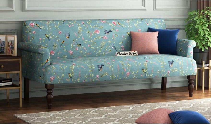 Foley 2 Seater Sofa (Linen, Bubble Robins)-6