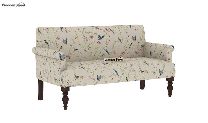 Foley 2 Seater Sofa (Linen, Cream Robins)-2