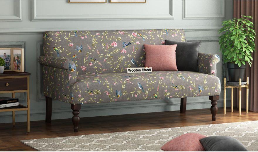 Foley 2 Seater Sofa (Linen, Grey Robins)-1