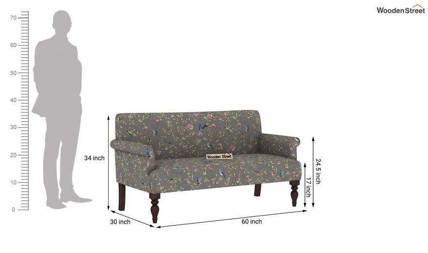 Foley 2 Seater Sofa (Linen, Grey Robins)-9