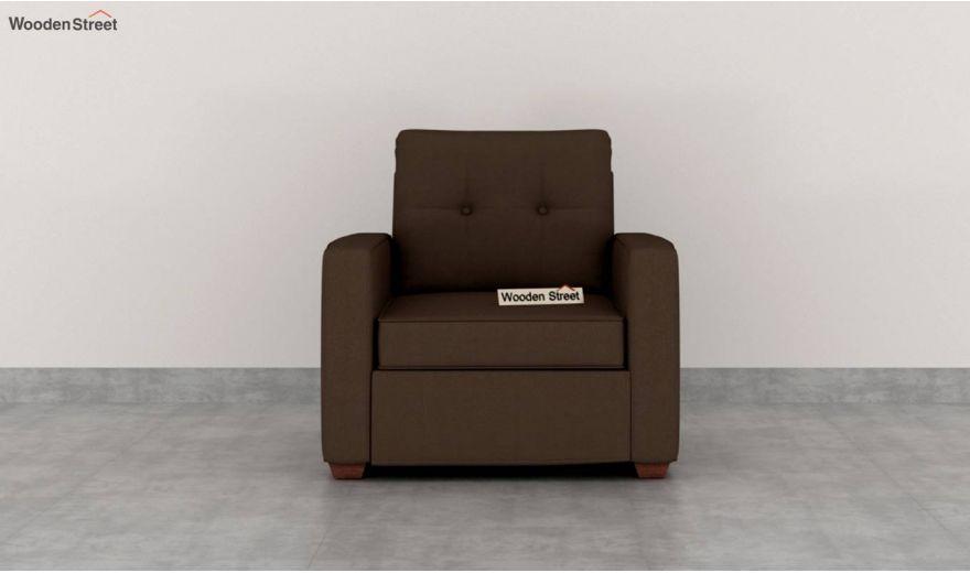 Nicolas 3 Seater Sofa (Cotton, Classic Brown)-6