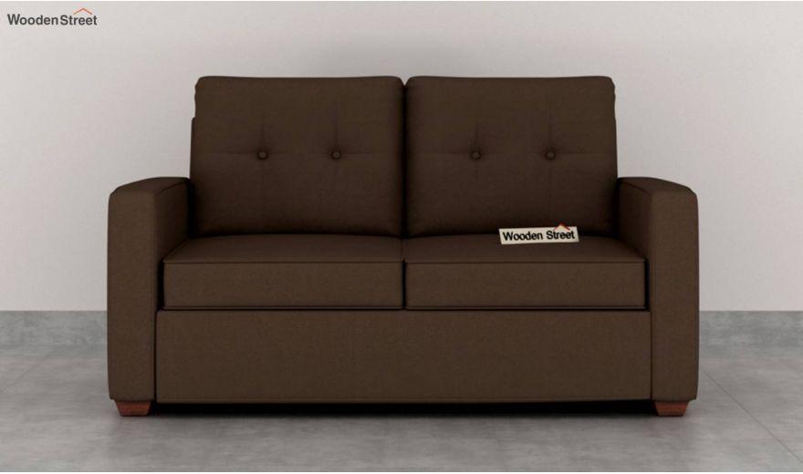 Nicolas 3 Seater Sofa (Cotton, Classic Brown)-8