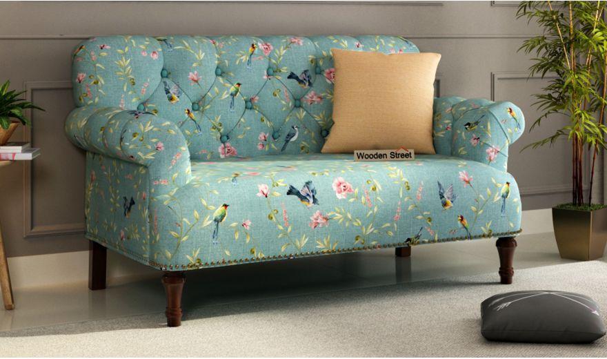 Parker 3 Seater Sofa (Linen, Bubble Robins)-6