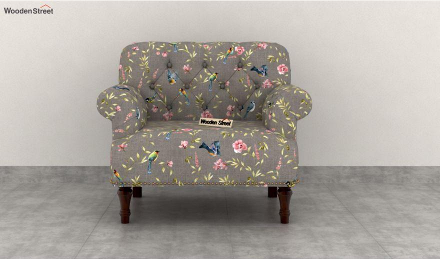 Parker 2 Seater Sofa (Linen, Grey Robins)-5