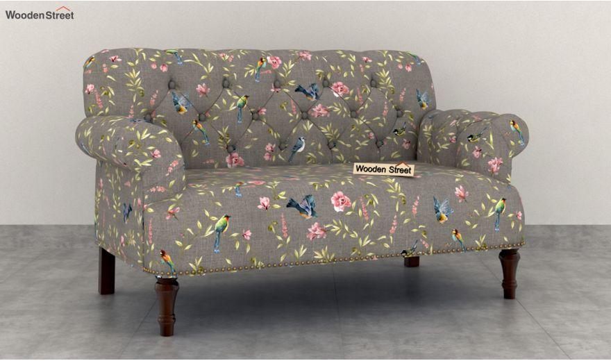 Parker 2 Seater Sofa (Linen, Grey Robins)-2