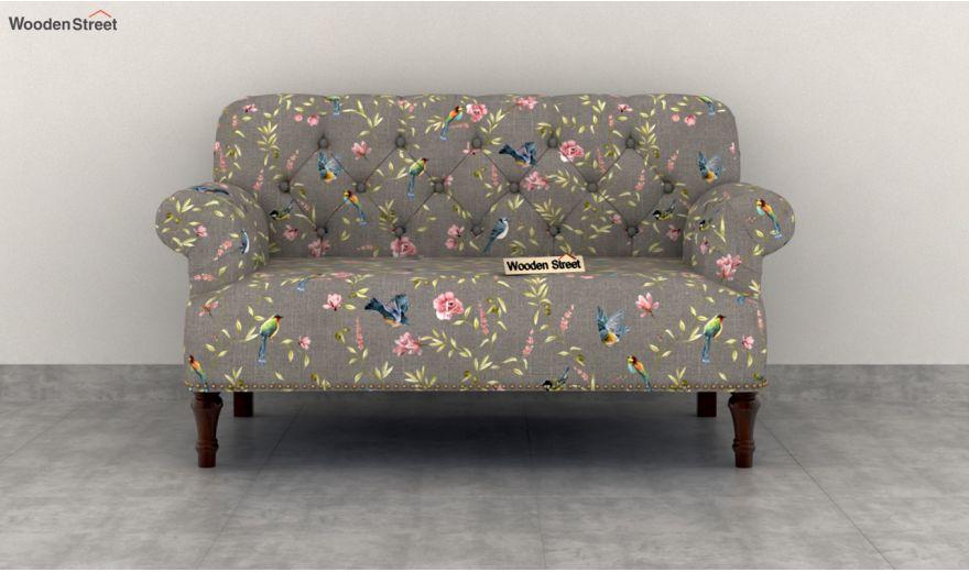 Parker 2 Seater Sofa (Linen, Grey Robins)-3
