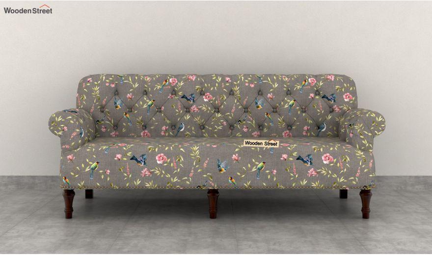 Parker 2 Seater Sofa (Linen, Grey Robins)-7