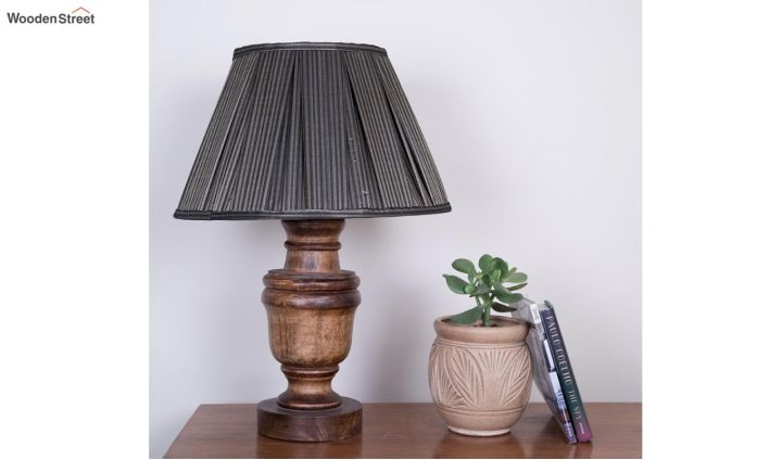 Leafy Cone Lamp Shade by Grated Ginger-2