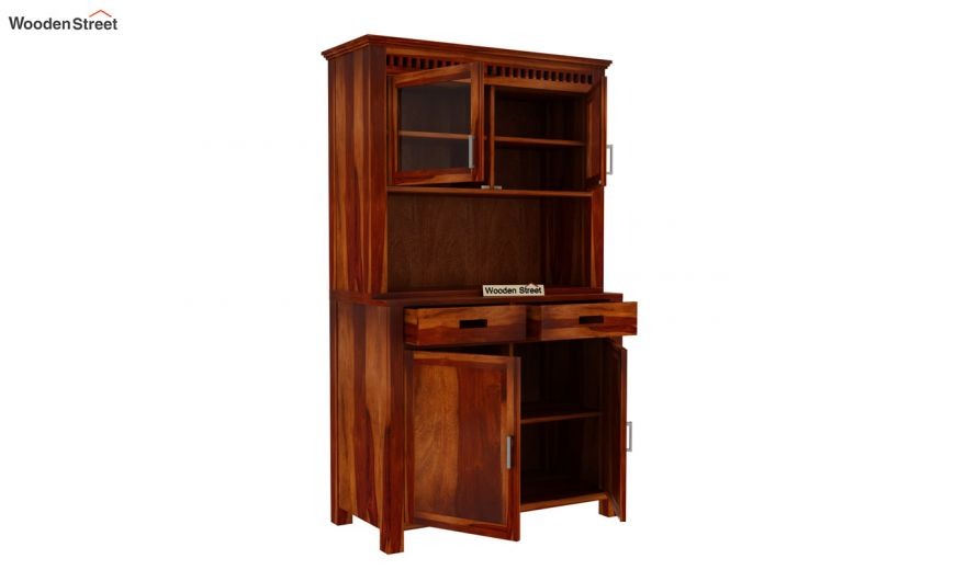 Adolph Hutch Cabinet (Honey Finish)-4