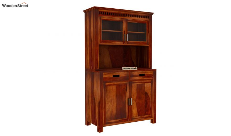Adolph Hutch Cabinet (Honey Finish)-6