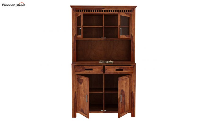 Adolph Hutch Cabinet (Teak Finish)-4