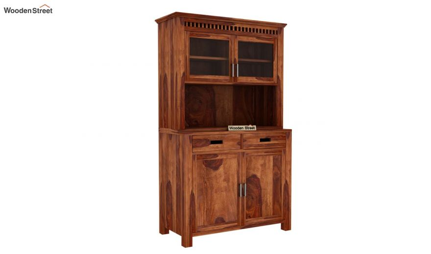 Adolph Hutch Cabinet (Teak Finish)-5