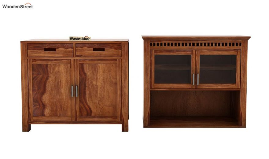 Adolph Hutch Cabinet (Teak Finish)-6
