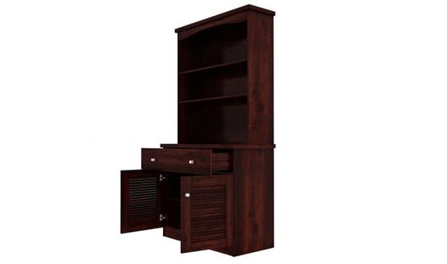 Aelita Kitchen Cabinet (Mahogany Finish)-6