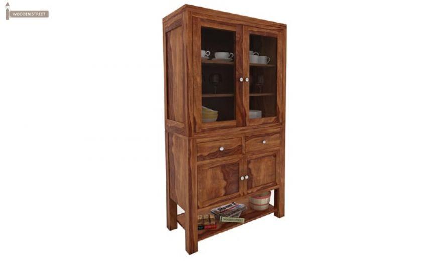 Maglory Kitchen Cabinet (Teak Finish)-3