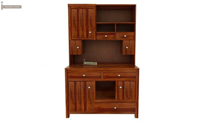 Crestor Kitchen Cabinet (Honey Finish)-4