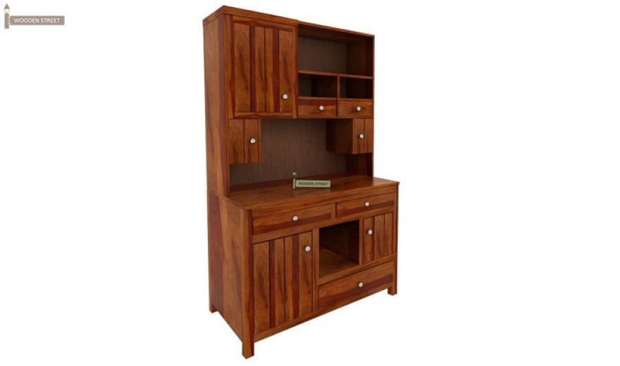 Crestor Kitchen Cabinet (Honey Finish)-5