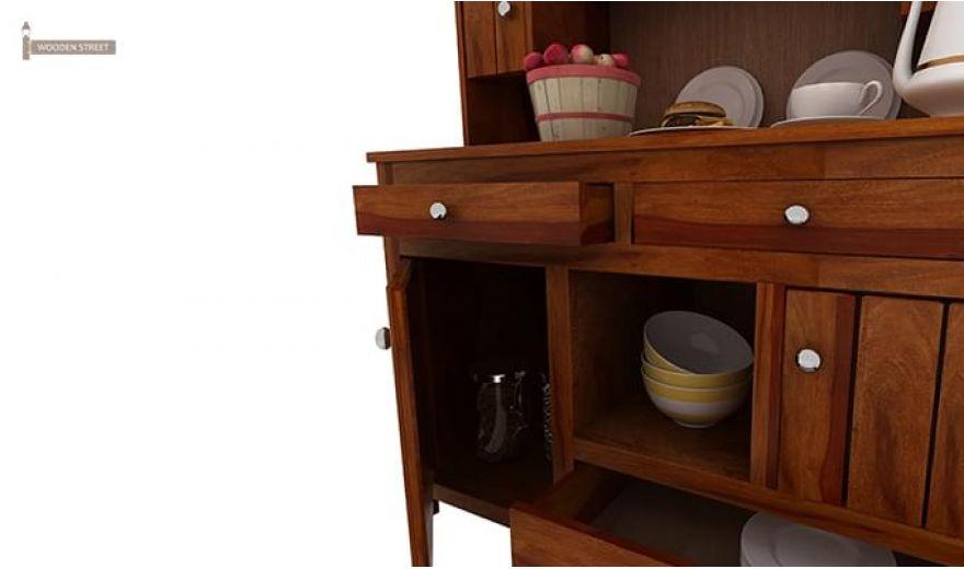 Crestor Kitchen Cabinet (Honey Finish)-7