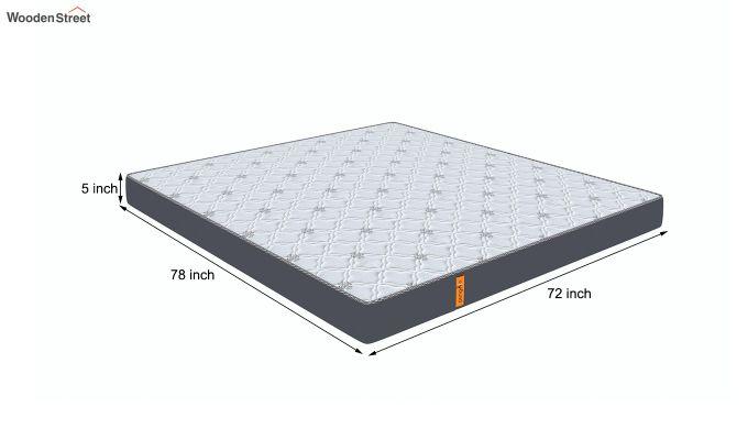 Penguin Ortho-Memory Mattress (5 inch, King Size, 78 x 72)-8