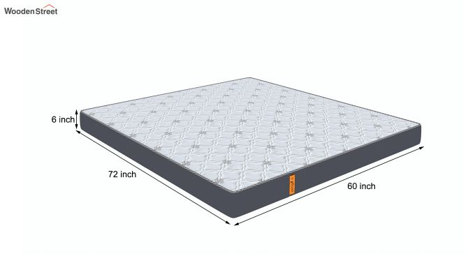Penguin Ortho-Memory Mattress (6 inch, Queen Size, 72 x 60)-8
