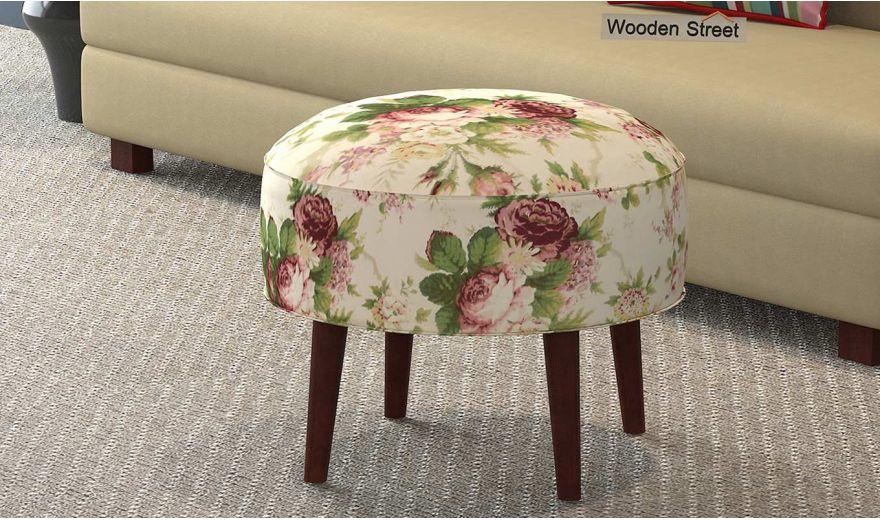 Farah Ottoman (Cream Blossom)-1