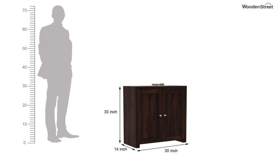 Baconz Footwear Storage Stand (Walnut Finish)-7