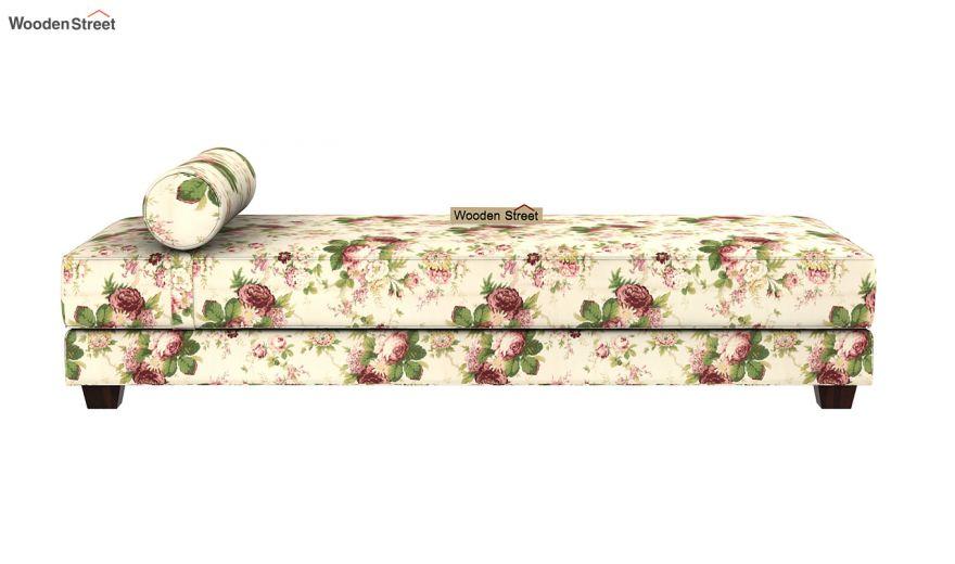 Corvis Fabric Sofa Cum Bed (Cream Blossom)-4