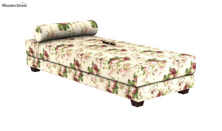 Corvis Fabric Sofa Cum Bed (Cream Blossom)-5