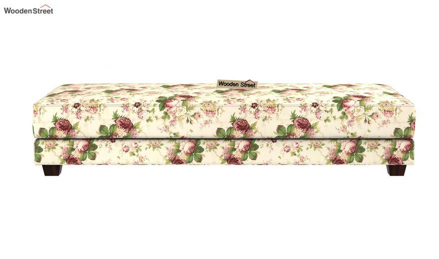 Corvis Fabric Sofa Cum Bed (Cream Blossom)-7
