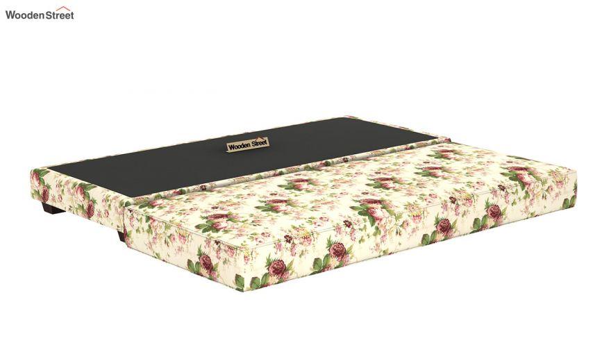 Corvis Fabric Sofa Cum Bed (Cream Blossom)-8