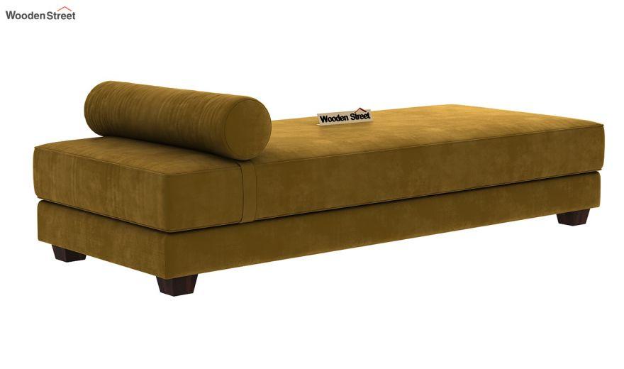 Corvis Fabric Sofa Cum Bed (Chestnut Brown)-3