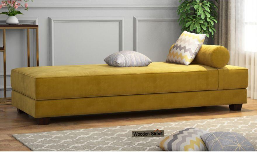 Corvis Fabric Sofa Cum Bed (Chestnut Brown)-2