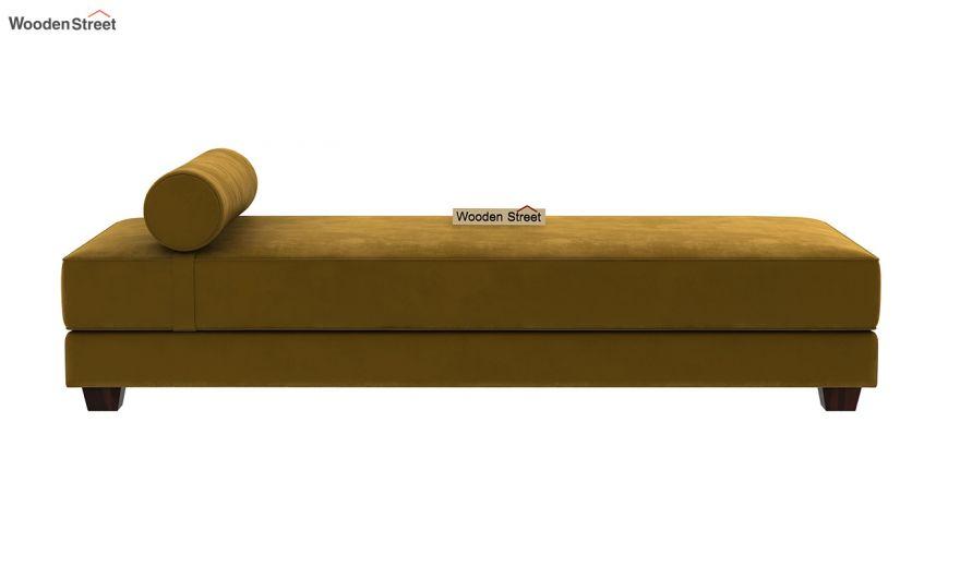 Corvis Fabric Sofa Cum Bed (Chestnut Brown)-4