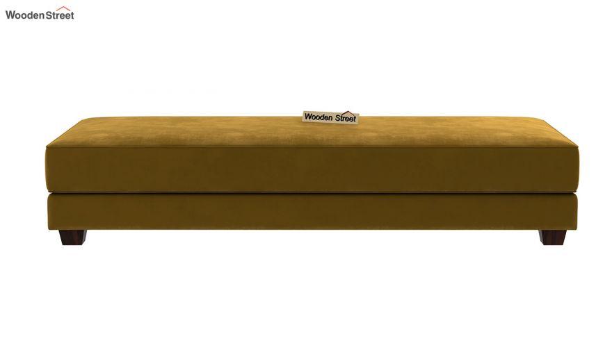 Corvis Fabric Sofa Cum Bed (Chestnut Brown)-7