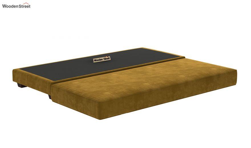 Corvis Fabric Sofa Cum Bed (Chestnut Brown)-8