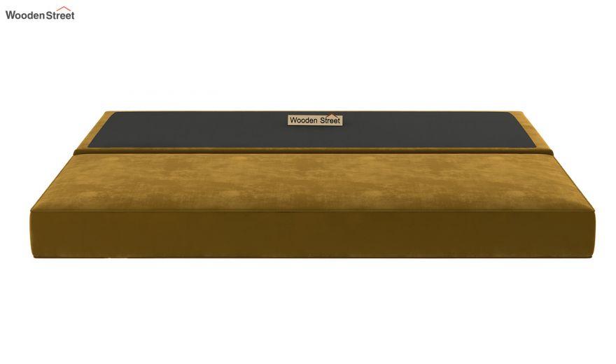 Corvis Fabric Sofa Cum Bed (Chestnut Brown)-9