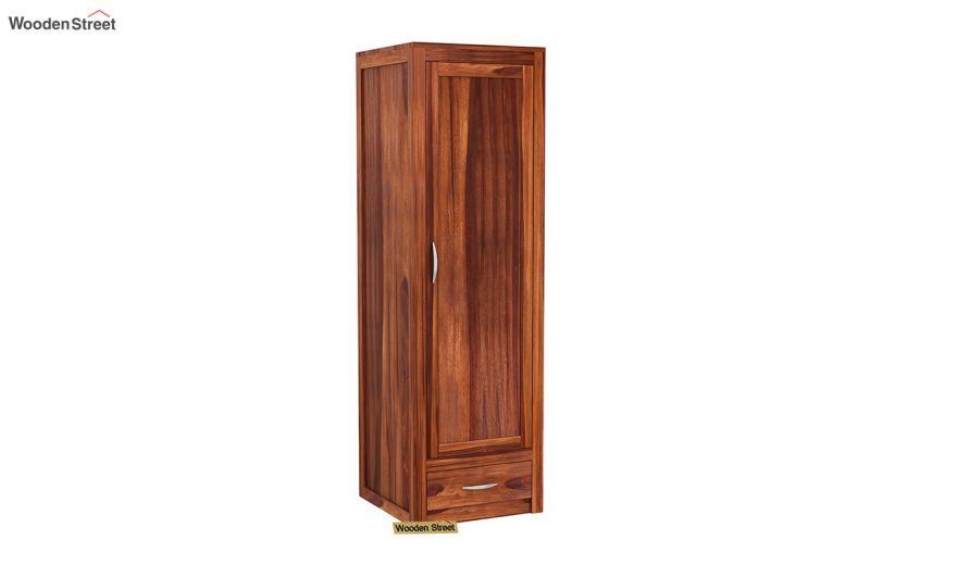 Holden 3 Door Multi Utility Wardrobe (Honey Finish)-3