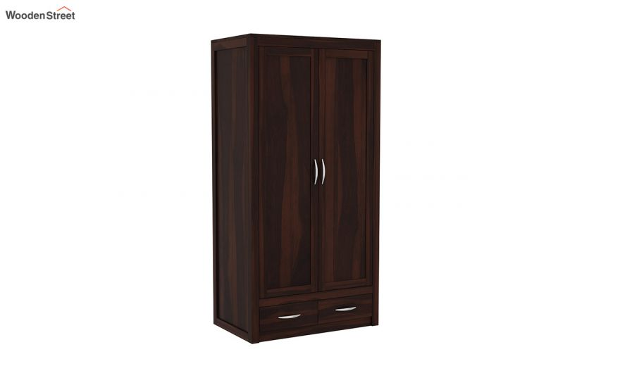 Holden 3 Door Multi Utility Wardrobe (Walnut Finish)-4