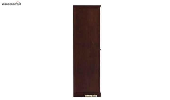 Nixon Multi Utility Wardrobe (Walnut Finish)-5