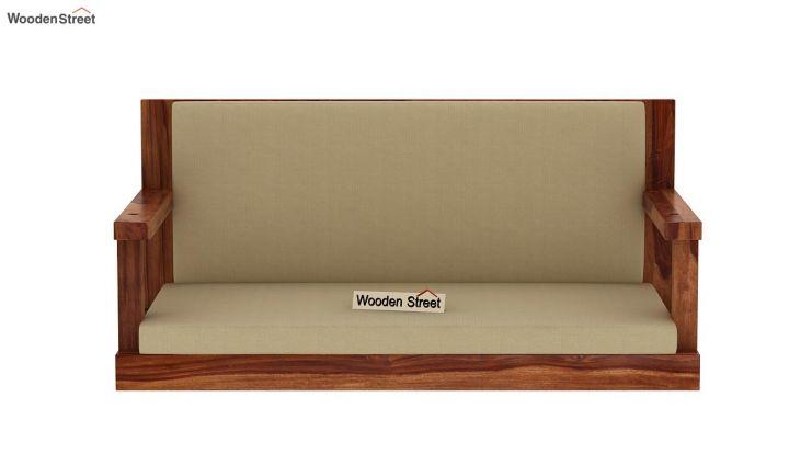 Elite Wooden Swing Chair (Teak Finish)-4