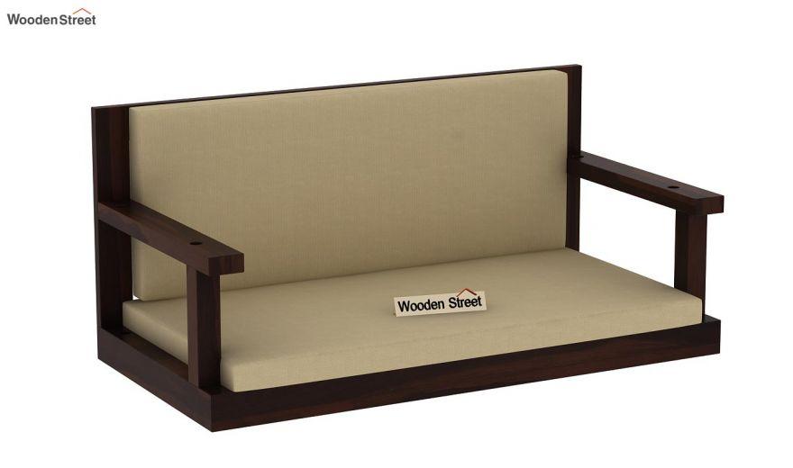 Elite Wooden Swing Chair (Walnut Finish)-3